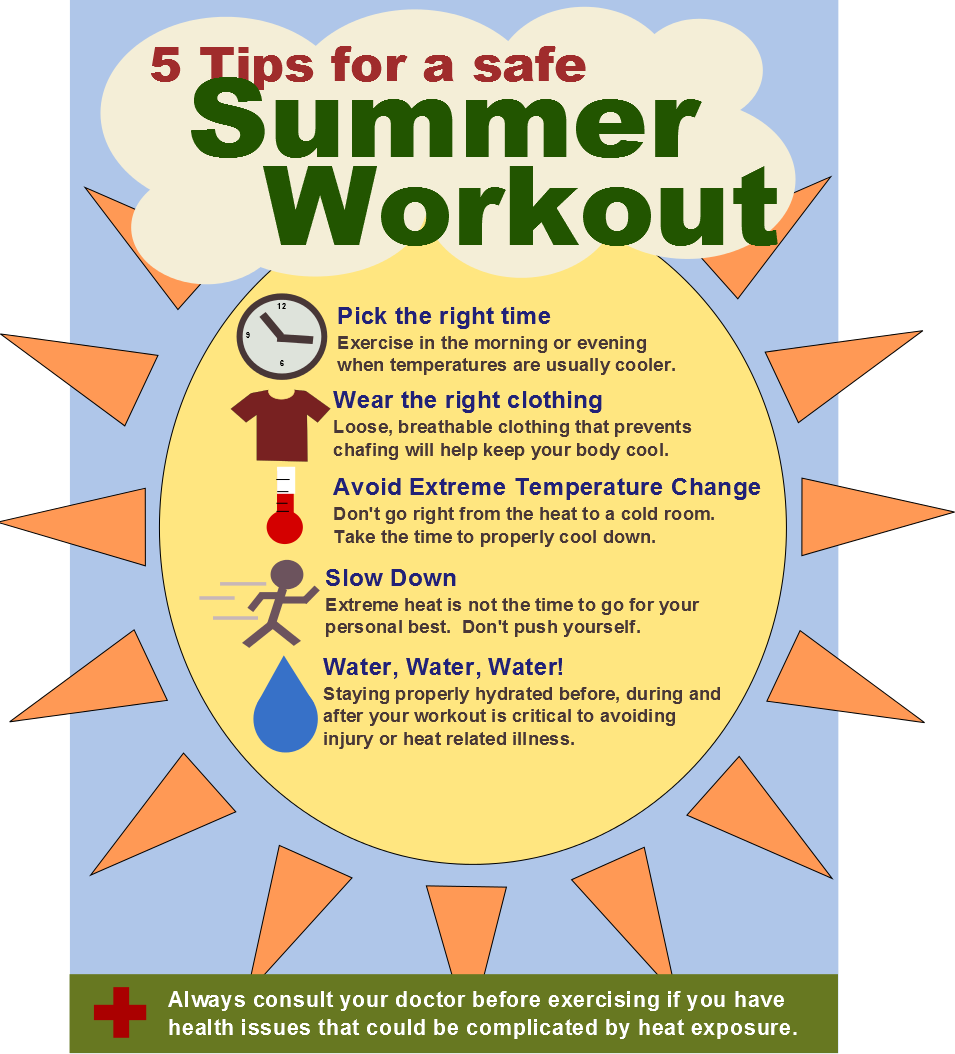 Five Tips For A Safe Summer Workout